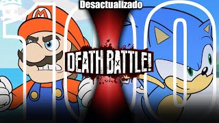 Mario vs Sonic (2018) | DEATH BATTLE! sub español (Nintendo vs Sega)