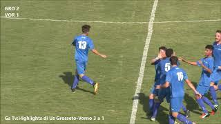 Eccellenza Girone A Grosseto-Vorno 3-1 (GS TV)