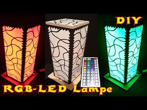 DIY RGB-LED-LAMPE SELBER MACHEN-TUTORIAL