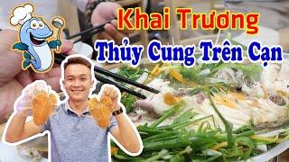 Đi ăn tôm tích khủng ở Nhà Hàng Hải sản Cao Cấp 257 Trương Vĩnh Ký