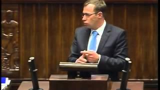 Cezary Olejniczak - wystąpienie z 8 stycznia 2014 r.