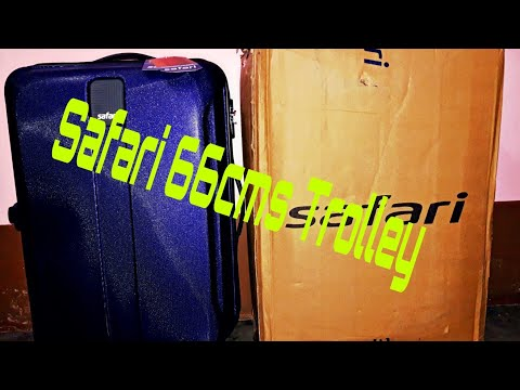 Safari 66cms Polycarbonate Hardsided Check-In Luggage/Unboxing/First Look/Doubt Clearance/
