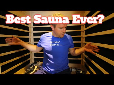 Best Sauna Ever - Lowest EMF Far Infrared Sauna On The Market - Top Rated Home Sauna Out Of 12 Brand