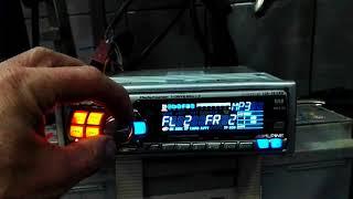 ALPINE CDA-9812RB CZĘŚCI 2