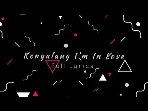 Kenyalang I'm In Love (lirik video) - Aepul Dramaband ft Mimie Haris (OST Kenyalang I'm In Love)