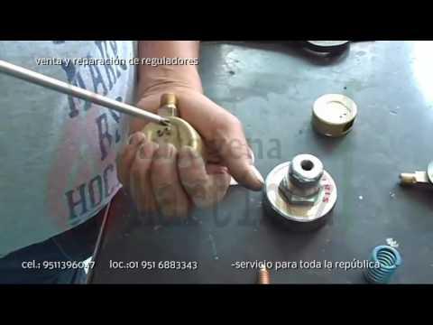 Reparaci n de regulador acetileno o gas lp youtube - Regulador de gas ...