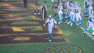 cam newton endzone celebration
