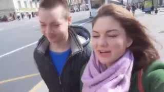 Даша в Москве и в Санкт Петербурге