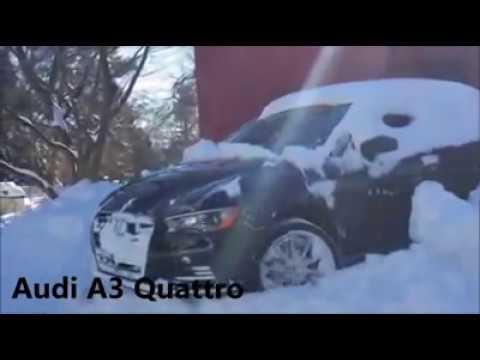 AUDI QUATTRO  im Schnee top 10
