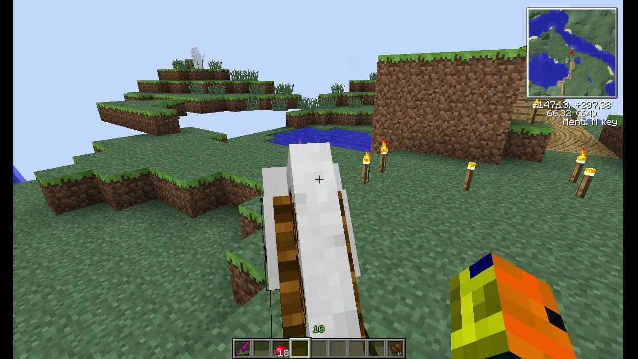 how to make a fence in minecraft pc 1.8.8