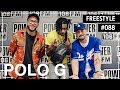 Polo G Freestyles Over