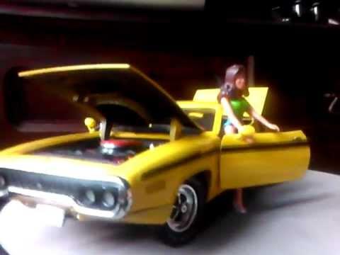 Duke Of Hazzard 1971 Plymouth Roadrunner Rt Daisy Duke Car