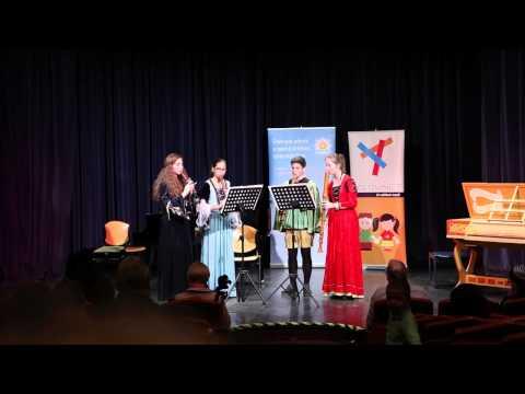 Adj teret a tehetségnek  - Az Illyés Kamara Kvartett furulya produkciója