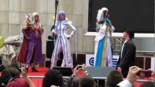 Cosplay Groupe Ah! My Goddess - Épitanime 18, à Paris (mai 2010)