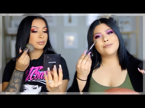 ONE BRAND MAKEUP TUTORIAL- MORPHE || EVETTEXO