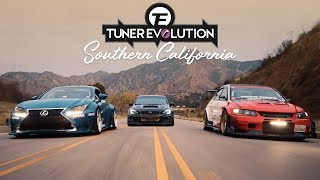 Tuner Evolution: SoCal 2018 | HALCYON (4K)