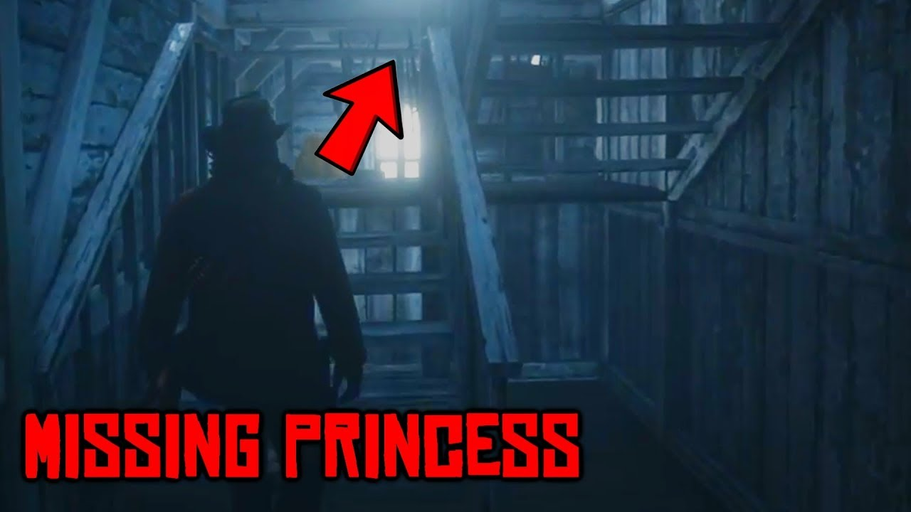 Is The MISSING PRINCESS Upstairs? + Time Travel Mystery! (Red Dead Redemption 2 Mystery)