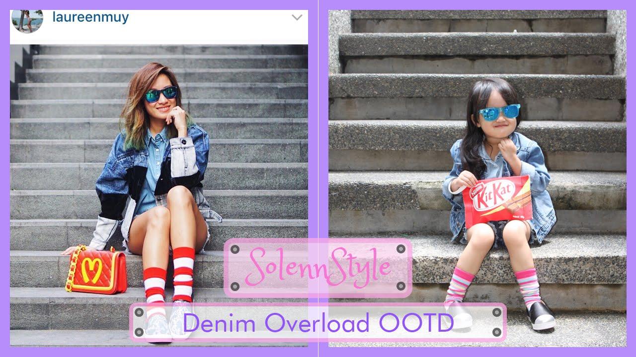 567296678fc9 Solenn s Denim Overload OOTD - H M Kids