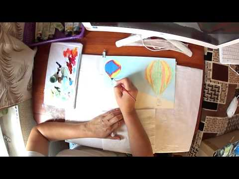 Как нарисовать ВОЗДУШНЫЕ ШАРЫ 2