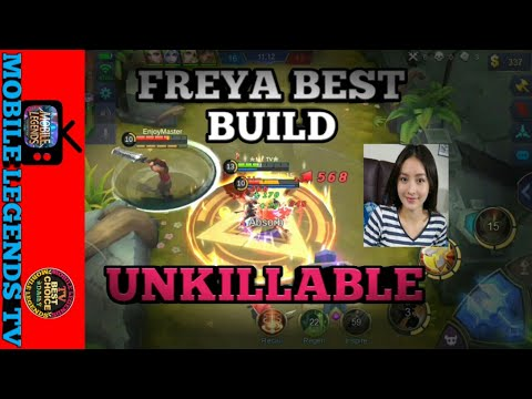 UNKILLABLE build | FREYA 100% BEST BUILD | MOBILE LEGENDS FREYA