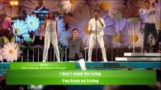 Eric Saade - Medley (Manboy, Popular, Sting) - Lotta på Liseberg (TV4)