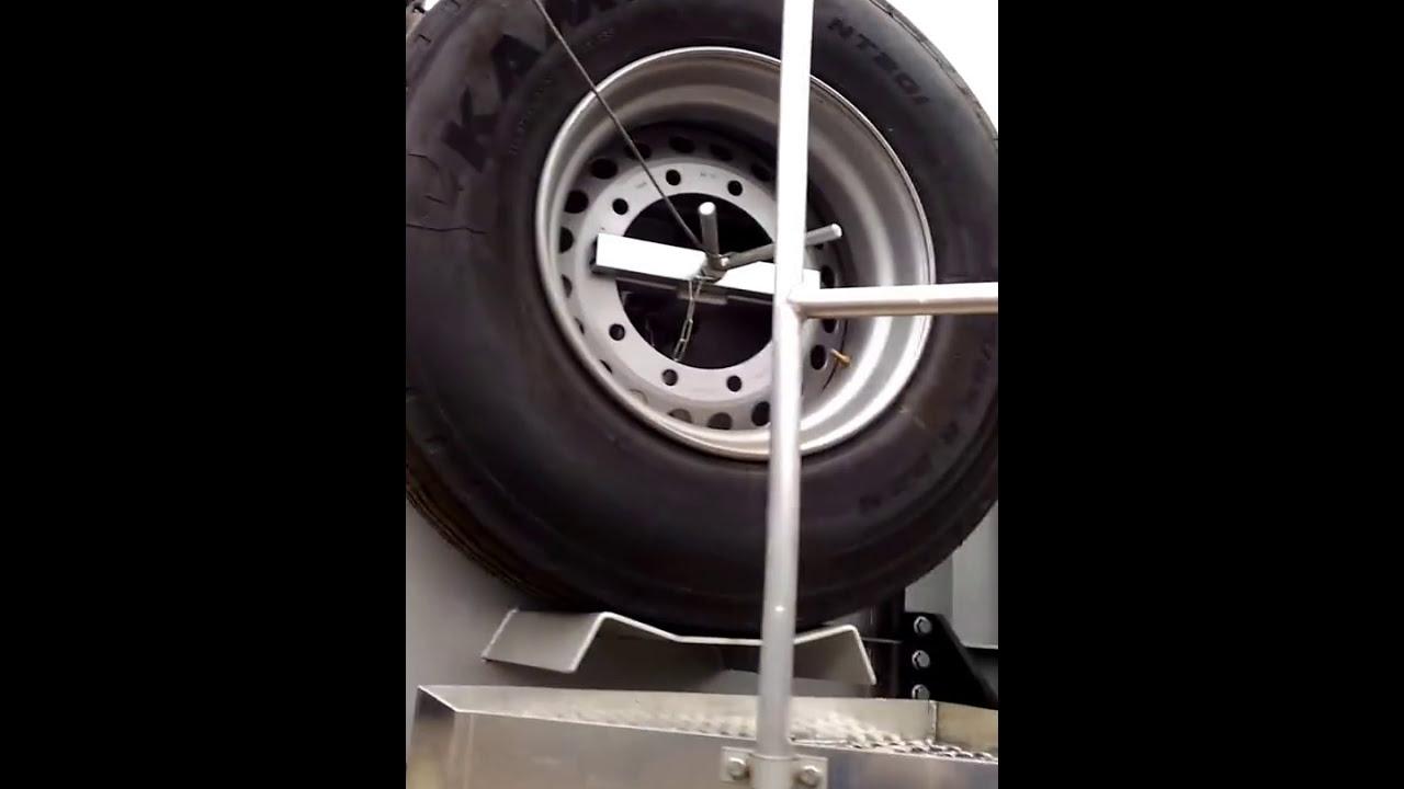 Обзор полуприцепа-самосвала Grunwald Gr-TSt 22 куб. м., вес 6,5 тонн
