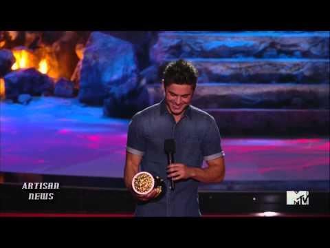 MTV MOVIE AWARDS WRAP - HUNGER GAMES BIG WINNER, ZAC EFRON SHIRT RIPPED OFF, CAMERON DIAZ FLUBS