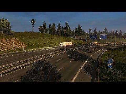 7/X Дневной Конвой по Euro Truck Simulator 2 от MEGA TRANS