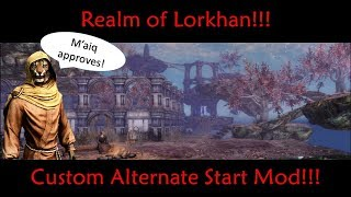 One of my *NEW* favorite mods!  Realm of Lorkhan!  Skyrim PS4 Mod Review