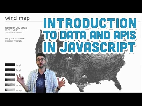 p5.js tutorial - 8.1 Introduction to data and APIs in JavaScript