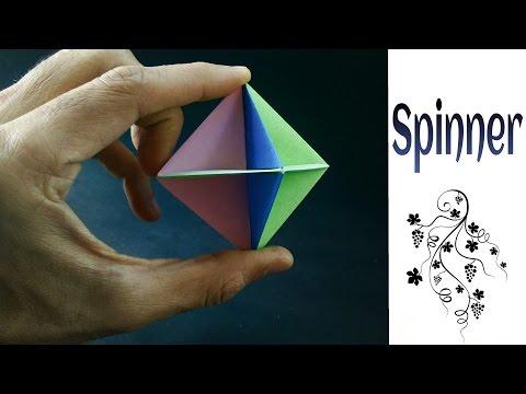 """Origami Paper """" Spinner """" (Modular)"""