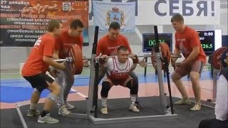 Fedosienko Sergey RAW total 670kg@59kg, Championship of Russia 2015(, 2015-12-28T23:18:48.000Z)