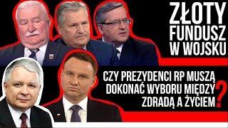 Złoty Fundusz w wojsku. Kowalski & Chojecki NA ŻYWO w IPP TV 22.11.2017