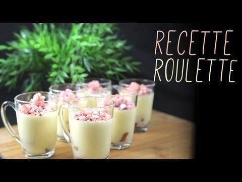 Verrines sucrées aux biscuits roses !