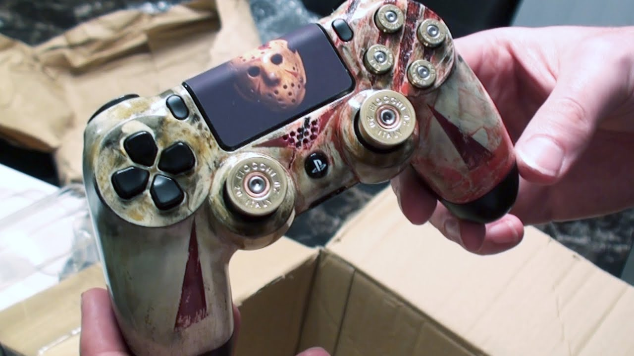 jason voorhees ps4 controller unboxing youtube