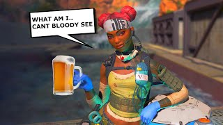Drunk Random teammate cant even tell what legend he is | Apex Legends