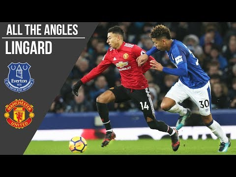 All The Angles: Jesse Lingard v Everton