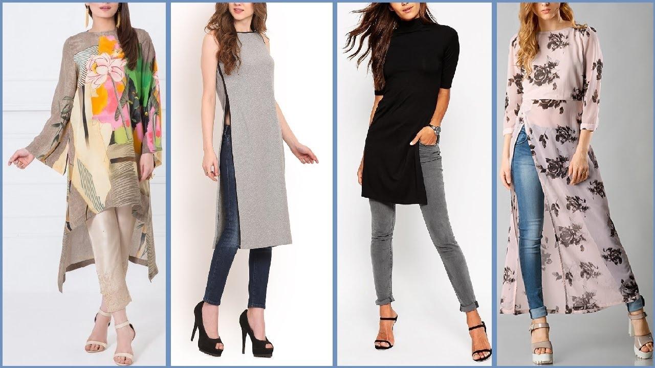 ff0632435 Latest Style Long Shirts   Kurta   kurti Designs For Girls