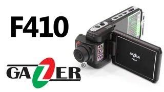 Gazer F410 — видеорегистратор — видео обзор 130.com.ua