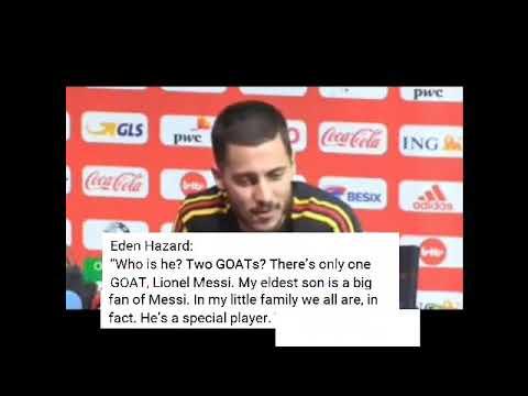 Eden Hazard On Leo Messi (New) thumbnail