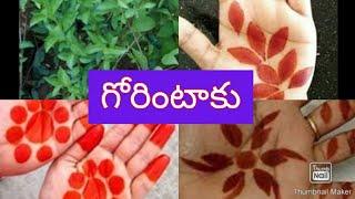 గోరింటాకు I gorintaku  I  by rupambica  I  henna
