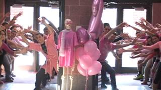 Breast Cancer Pink Out Dance - Cranston West High School RI