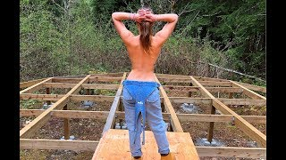Download Video Girl Builds Off Grid Yurt Alone in Canadian Wilderness | Ep.13 MP3 3GP MP4