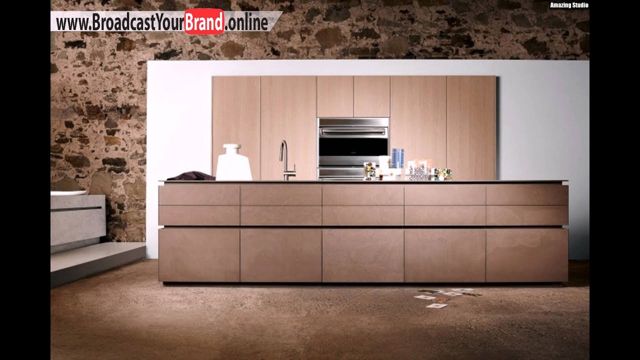 eggersmann k chen design luna braun quartzit grifflos youtube. Black Bedroom Furniture Sets. Home Design Ideas