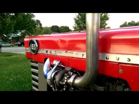 Massey Ferguson 165 Perkins Diesel Turbo