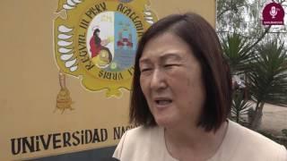 Tema: Alcaldesa de Huaral se reúne con Rector de la UNMSM