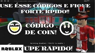 ROBLOX - Use esse código e você ira upar muito rapido!! - Super Hero City