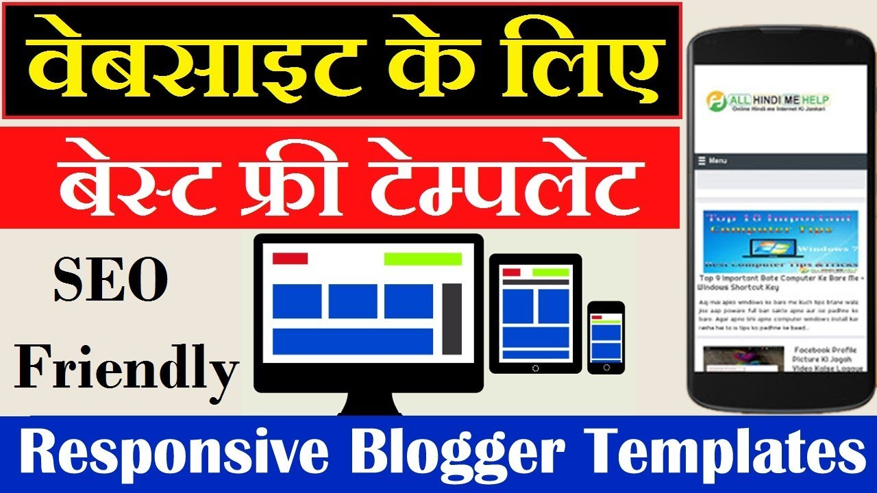 Top 5 Best Blogger Template Seo Friendly Simple Blogger Theme
