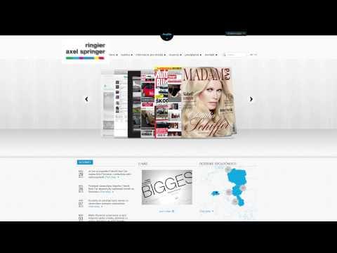 Ringier Axel Springer logo animácia