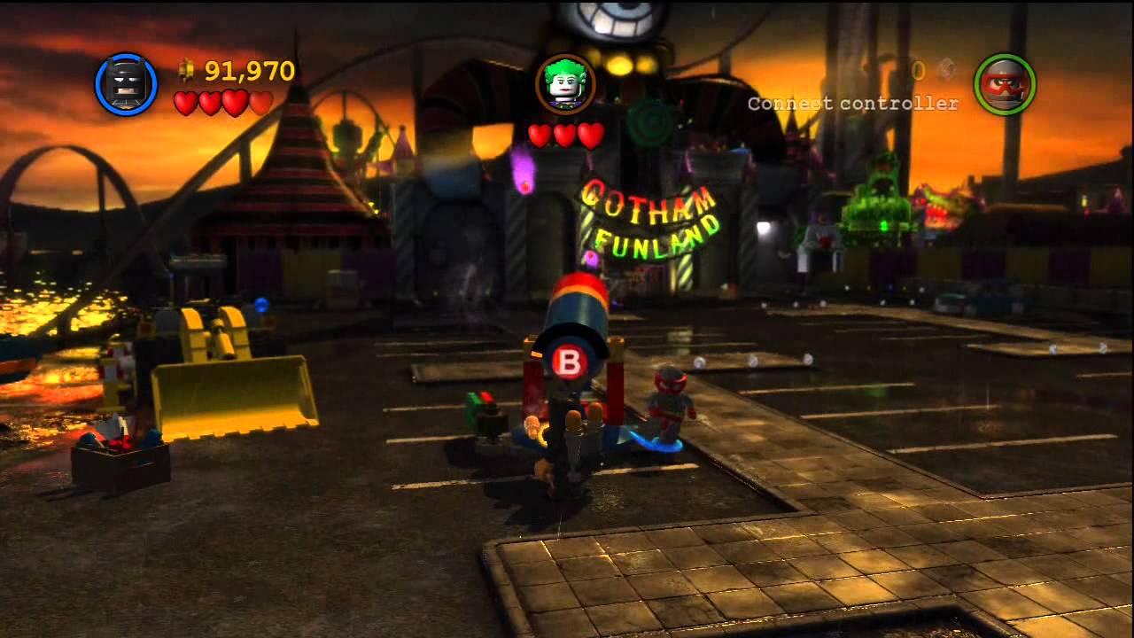 Lego Batman 2: DC Super Heroes walkthrough part 5- Joker ...